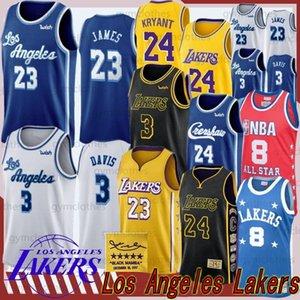 LeBron 23 James Anthony 3 Davis Kyle 0 Kuzma Jersey Kobe 24 Bryant Erkek Çocuk Üniversitesi NCAA Basketbol Formalar 14 Ingram Formalar