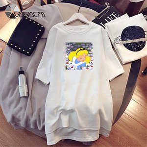 Women Designer T Shirts Long Summer Brand Printed Tees Breathable Loose Short Sleeves For Girl Dress Tops Luxury T Shirts