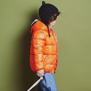 BOTEZAI Mode Winter-Jungen-Mädchen Daunenjacken für Kinder mit Kapuze nette Mickey-Kleidung-Kind-Baby-Kleidung Oberbekleidung Kleidung