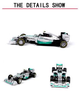 Bburago Alloy Car Model Toy، Benz F1 Formula Cars، سيارة سوبر سبورتس، رودسترز، لهدايا عيد ميلاد كيد، جمع، ديكورات المنزل