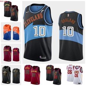 Hot 10 DariusGarland 26 KyleKorver ClevelandCavaliersMen Edition Swingman Basketball Jersey