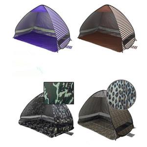 SimpleTents Easy Carry Carpas Accesorios para acampar al aire libre para 2-3 personas Carpa de protección UV para viajes de playa Césped 30 PCS / Lote colorido CTS001
