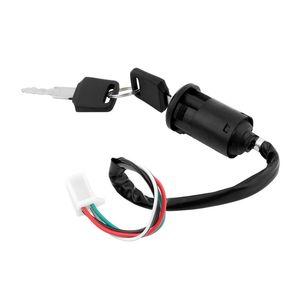 Motosiklet Ateşleme Sistemi Kilidi Elektrik Anahtarı Anahtar Suya Dayanıklı Motorlar Aksesuarları CG125 Motor ATV Scooter için