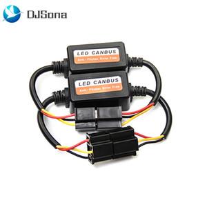 DJSona Computer-Warnung Fehler Free Anti Flicker Widerstand Canceller Decoder für Scheinwerfer LED Canbus Wiring Kit