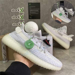 Comfort Mens Running Shoes Women Best Sports Sneakers Kanye West Desert Sage Static Earth Zyon Tail Light Cinder V2 With Ball Size 36-48