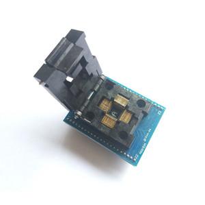 Envío gratuito TQFP44 a DIP44 / LQFP44 a adaptador DIP44 TQFP44 IC CHIP socket Programador ATmega16 Atmega162