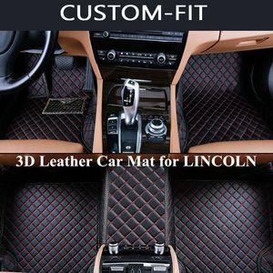 Custom Car Floor Mats for LINCOLN NAVIGATOR MKZ MKS MKC MKX MKT Accessories All Model Carpet Alfombra Coche