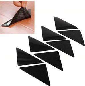 Ruggies Rug Carpet Mat Grippers Non Slip Grip Corners Pad Anti Skid Reusable Silicone Useful Tidy