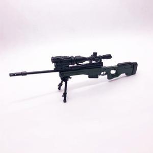 1: 6 AWP Sniper Rifle 4D Сборка пистолета модели игрушек