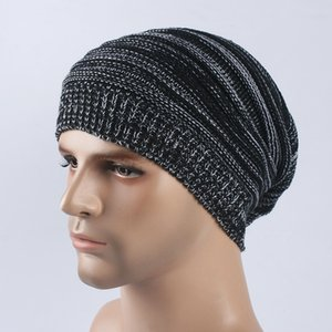 New Winter Hats For Men Cap Women's Warm Hat Beanie Hat Warm Knnited Beanies Elastic gorros toucas inverno bonnet