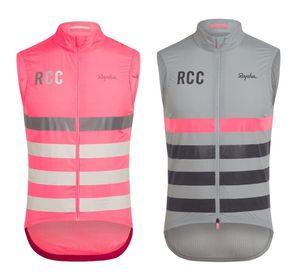 RCC 2019 высокого качества задействуя Gilet ветра езда Джерси рукавов жилета ветрозащитные Велоспорт куртки на открытом воздухе велосипед ветер одежда
