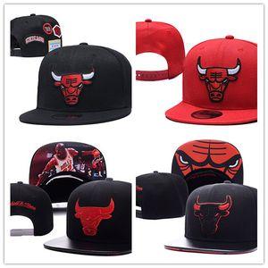 Sombrero al por mayor del equipo de Chicago Todo Baloncesto Snapback casquillos planos del deporte al aire libre del sombrero de béisbol orden de la mezcla