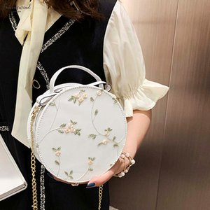Fashion Lace Crossbody Bags For Women 2020 Streetwear Casual Crossbody Bag Small Round Sweeet Bags Women Bolso Mujer
