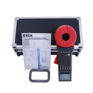 Dijital Kelepçe metre Topraklama Direnci Ölçer Cihazı Kelepçe Toprak Direnci Test Cihazı ETCR2100A +
