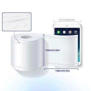 Atacado 4-Ply massa Personalizar macia papel higiénico 140g mão de papel toalha 1 rolo pacote