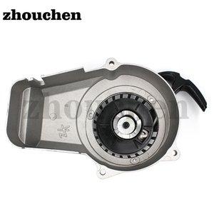 Großhandel Motorrad-Aluminium-Pull Starter-Motor Pull-Starter Fit Für 47cc 49cc 2 Takter Motoren Dirt Bike LSL-001