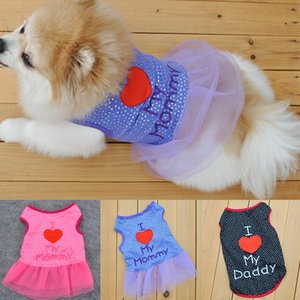 2019 Small Pet Dog Clothes Fashion Costume Vest Puppy Cat Apparel