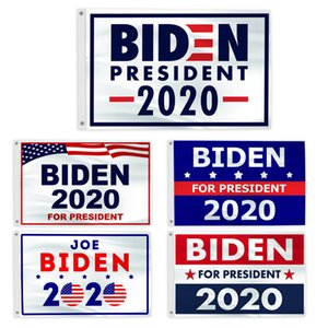Joe Biden Flag 90 * 150 centímetros Bandeiras 2020 Raça para Presidente Bandeira de poliéster Festa Multi Color Parade Hot Sale 16ym C2