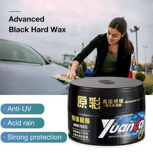 Negro Solid Car Car Wax cera dura la reparación del rasguño Cuidado brasileña palma pintura negro Mantenimiento de limpieza profesional