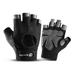 Hot Summer outdoor men and women breathable non-slip gym weightlifting gloves mountain bike half-finger cycling gloves 3 color options