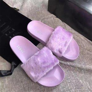 Top Quality Paris Sliders Women Womens Summer Sandals Beach Slippers Ladies Flip Flops Loafers Black White Red Green Slides Chaussures Sh#832