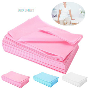 80 * 180 centímetros Folha médica descartável não tecido Salão de beleza Massagem Bed folhas de rosto Folha de mesa Massagem Colcha de Cama