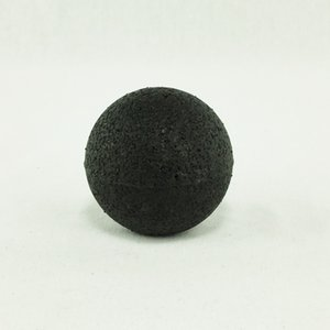 10cm EPP Massage Ball with Giant Imitation Leather for Lacrosse, Grip Strength Recovery, Muscle Knots & Myofascial Release