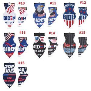 2020 Spor Bisiklet Yüz Eşarp Küpe ABD Başkanlık Seçim Biden Maske Çok fonksiyonlu Biden Başörtüsü Joe Biden