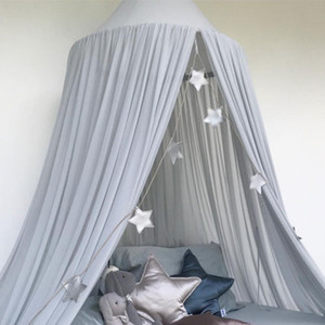 Babybett Himmelbettdecke Moskitonetz Bett Vorhang Bettwäsche Kuppelzelt Kisd Room Decor Bettwäsche Netz