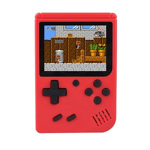 Coolbaby RS-500 6A upgrad No repetir Juegos Mini Juego portátil reproductor portátil Consolas Vídeo Retro jugadores del juego de 3,0 pulgadas de regalo de los cabritos