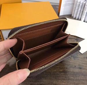 lüks tasarımcı cüzdan bozuk para cüzdanı bayan küçük cüzdan moda kadınlar rahat cüzdan ünlü tek fermuar bayanlar kadın pu deri çanta cüzdan