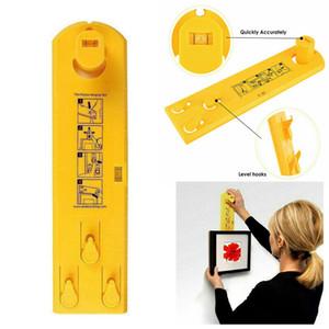 도구 액자 걸이 대상 위치 Usefu 측정 사진 프레임 벽걸이 키트 휴대용 레벨 눈금자 다기능 레벨 눈금자 버블