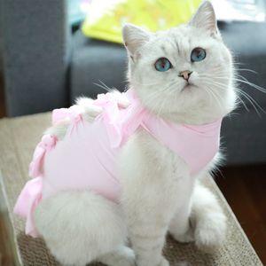 Gato del otoño del resorte trajes de color sólido dulce mascota ropa del traje de Halloween del gato Animal Ropa Chaqueta con capucha