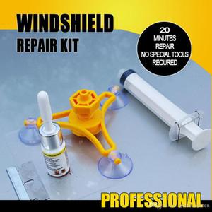 1set voiture Outils de réparation de pare-brise DIY fenêtre de voiture Kit de réparation de verre pare-brise Repair Tool Set Pour Crack 002