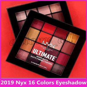 2019 Hot maquillage professionnel palette de 16 couleurs ultime ombre cosmétiques Palette de haute qualité