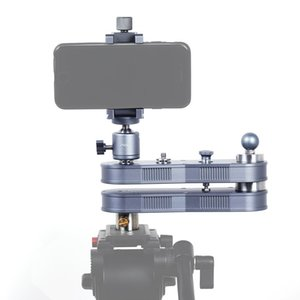 ADAI Mini Extendable Rail Track Dolly Slider, Panning and Linear Motion up to 4 x Distance , Load Max: 1.5kg