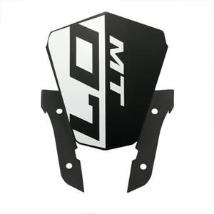 Motocycle Верхняя фара Верхняя крышка Панель ветрового стекла лобовое стекло для Yamaha MT07 FZ07 2013 2014 2015 2016 MT 07 FZ 07