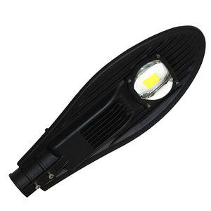 Venta libre del envío AC85-265V 50W llevó la luz de calle IP65 Bridgelux 130LM / W LED llevó la luz de calle 3 años de garantía