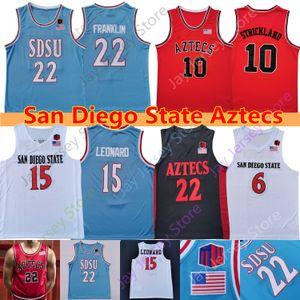 2020 San Diego State Aztecs Basketball Jersey NCAA College Malachie Flynn Leonard Matt Mitchell Schakel Yanni Wetzell KJ Feagin