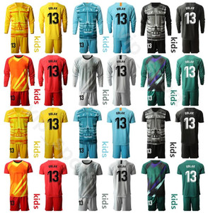 Youth Talie Torhüter GK Fussball Jersey Set 2020 Kinder 13 Jan OBLAK 1 Antonio Adan 1 Miguel Angel Moya Football Hemd Kits MJ