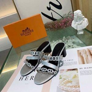 Pelle pantofole punta aperta Scarpe Donna Estate Piattaforma Moda Sandali di moda casual causale del puntello