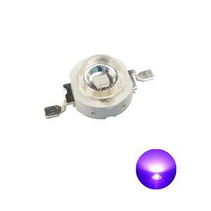 Alta potencia chip LED 1W 3W 5W uv y lámpara planta espectro completo de 3W (banda de 365 nm-395 nm) SMD COB óptico diodo emisor de dispositivo
