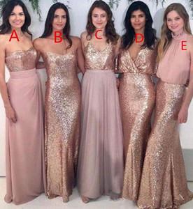 Mermaid Birçok Stilleri Gül Tanrı Sequins Gelinlik Modelleri Değişik Stilleri Aynı Renk