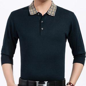 2018 flambant neuf hommes pull solides sociaux chauds occasionnels chandail chandails pull vêtements jersey shirt des hommes tricot mâle mode 808