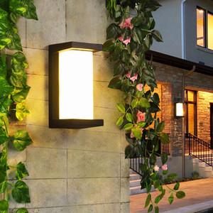 RW223 10W Wall lamp outdoor porch light LED waterproof facade lighting for home yard exterior balcony light aluminum garden wall light