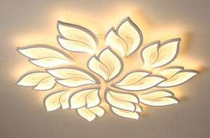 Nouvelle arrivée Iralan LED Lustre moderne Fleurs For Living télécommande Chambre Chambre / support APP éclairage design Accueil insta LLFA