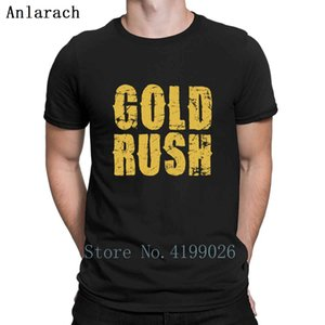 Gold, round neck T-shirt, Shanda T-shirt, spring men's T-shirt