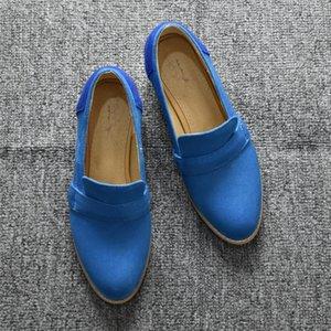 Sarairis 2020 New Heels Fashion Square Concise Escarpins Femme Slip On Printemps / Automne Loisir Chaussures Femmes Pompes Femme