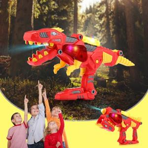 Dinosaur Toy Building Blocks Light Sound christmas toy gift