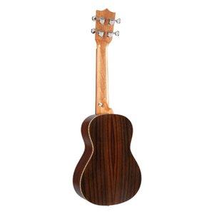 BURKS Ukulele Concert Ukulele rosewood uku Ukulele com Aquila Cordas mini-Hawaii guitarra Musical Instruments